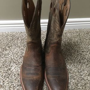 Men's heritage roughstock western boot
